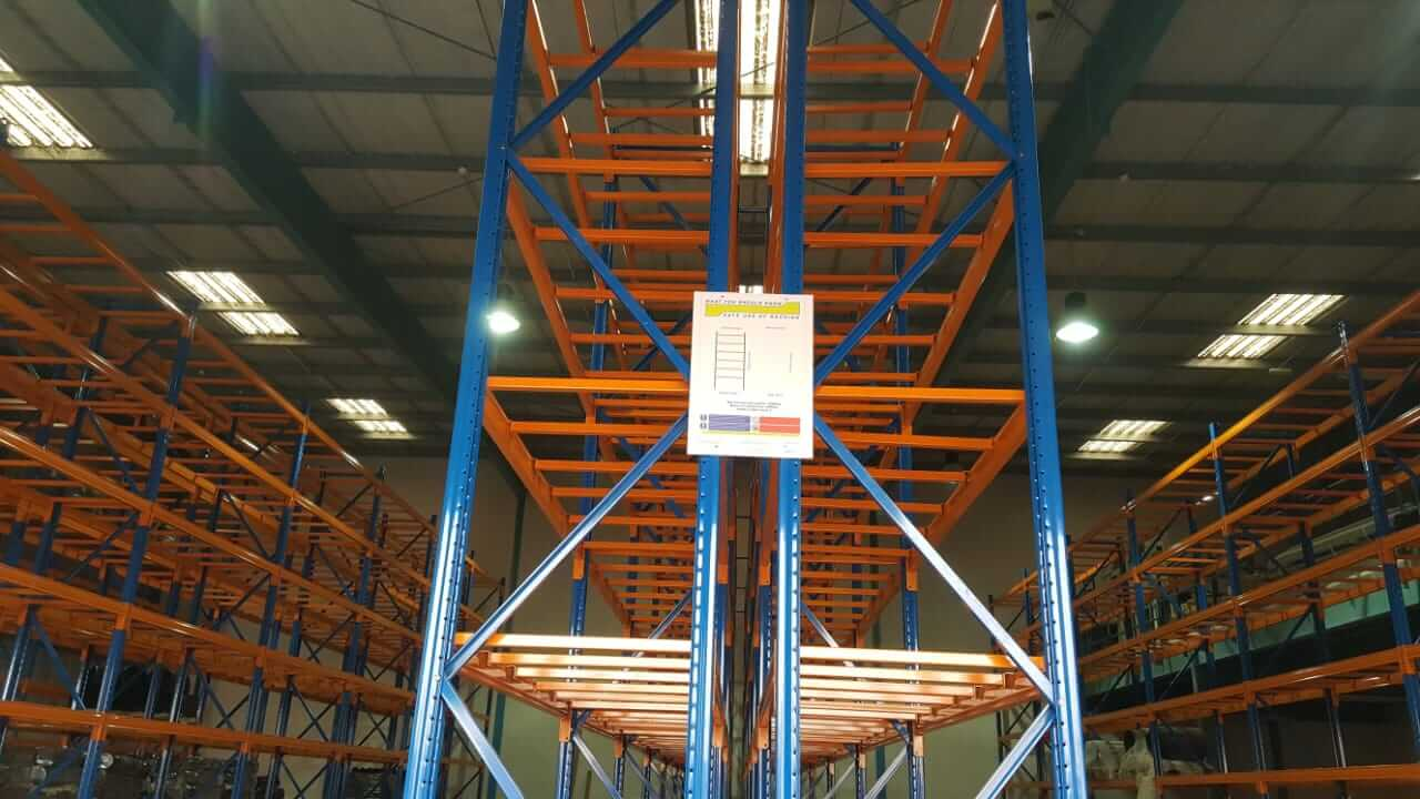 Selective racking system - 11