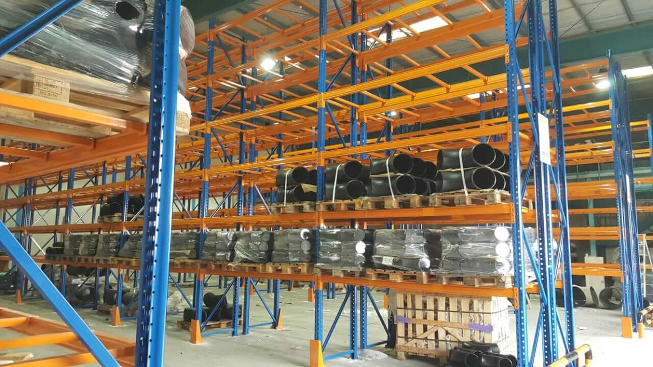 Selective racking system - 12